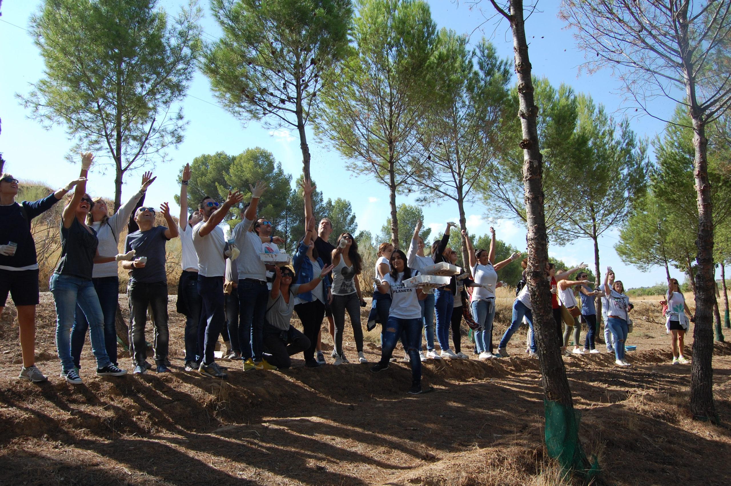 Plantación, talleres ambientales, diversificación floral
