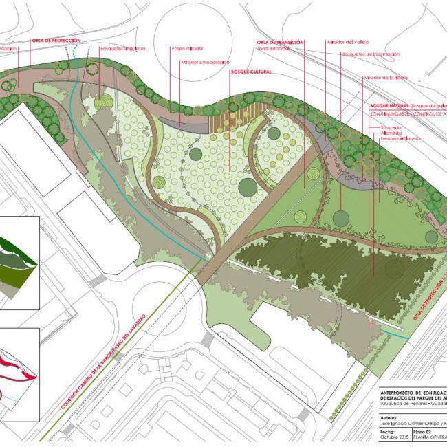 Anteproyecto para la restauración del Arroyo del Vallejo en Azuqueca de Henares